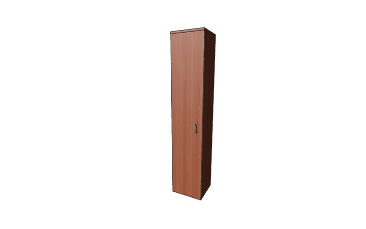 Шкаф узкий для одежды Оптима Л237