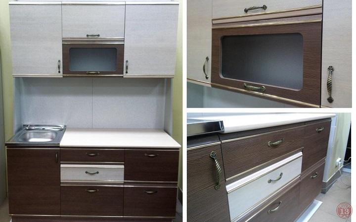 Кухня Милена набор модулей 1,8 м