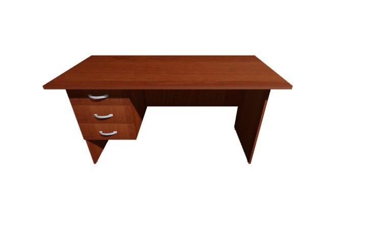 Стол письменный 3 ящ Оптима С213