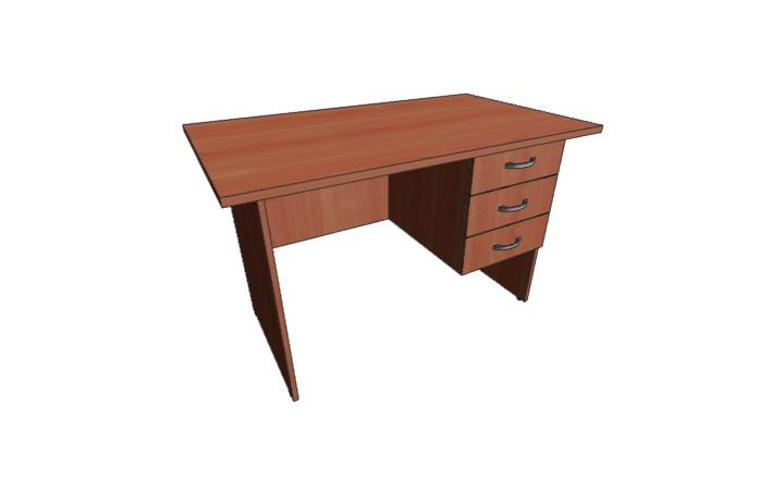 Стол письменный 3 ящ Оптима С225