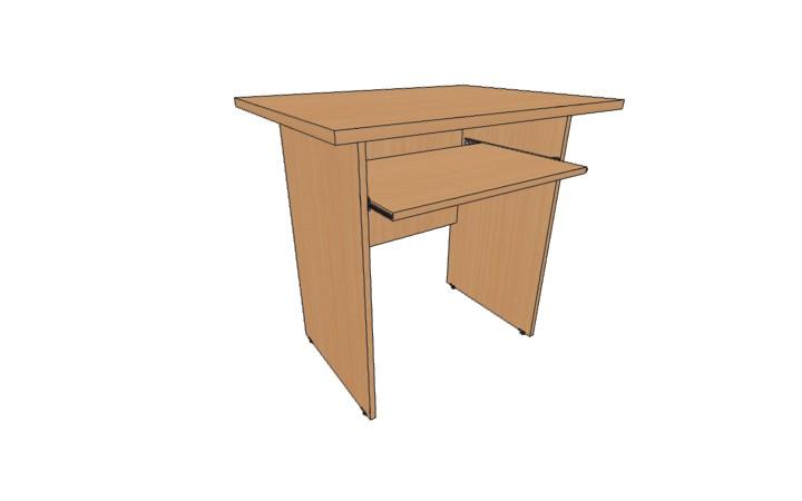 Стол приставной компьютерный Оптима С227