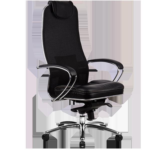 Кресло руководителя Samurai SL-1 черный плюс