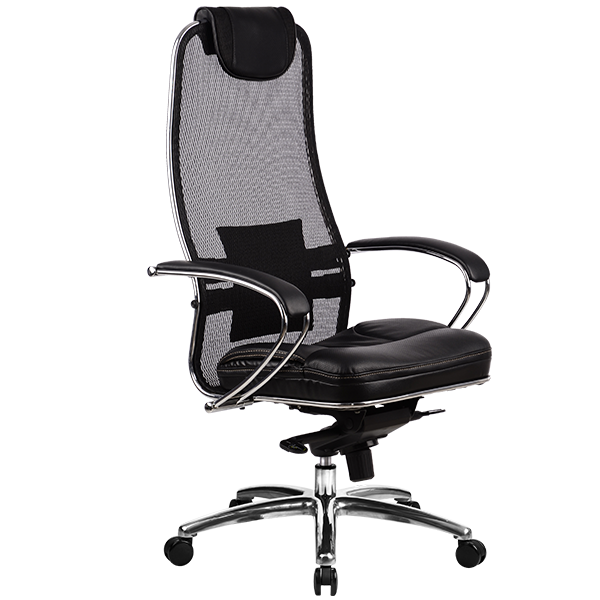 Кресло руководителя Samurai SL-1 черный