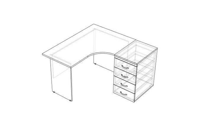 Комплект офисной мебели Оптима 2