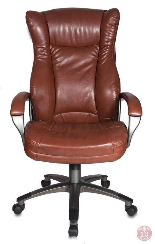 Кресло руководителя Бюрократ CH-879DG/Brown