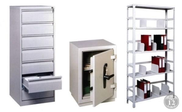 Металлические шкафы для одежды, шкафы для сумок, архивные шкафы, картотеки, бухгалтерские шкафы