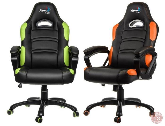 AeroCool представит профессиональное игровое кресло AC80C в январе
