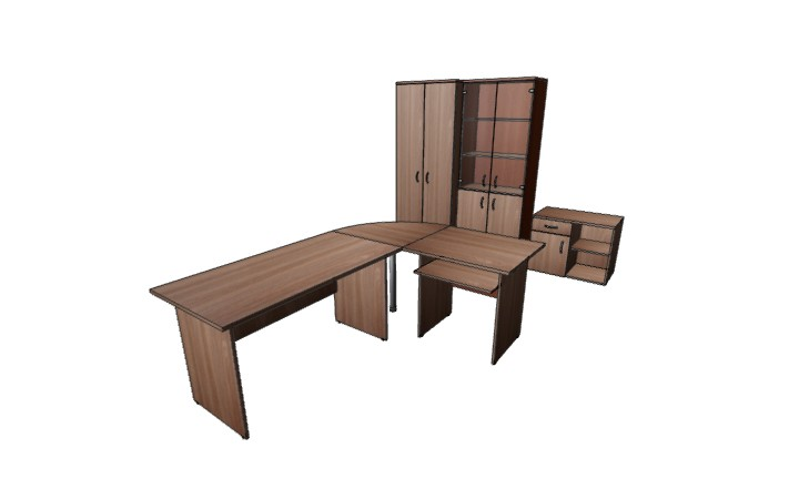 Комплект офисной мебели Оптима 8