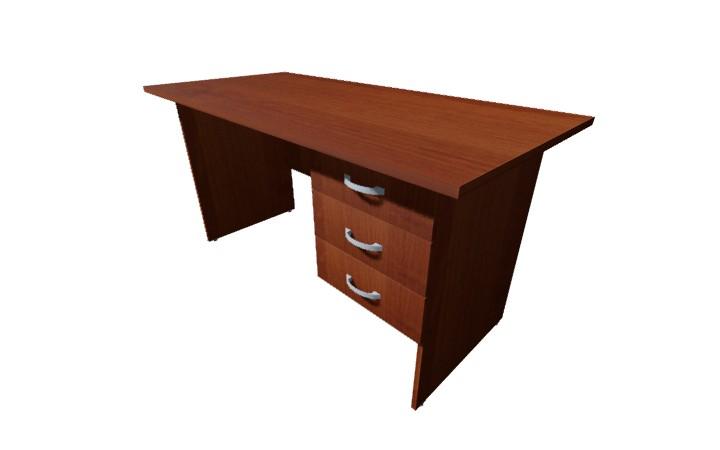 Стол письменный 3 ящ Оптима С223