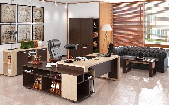 Кабинет руководителя Alto - обустрой свой офис!