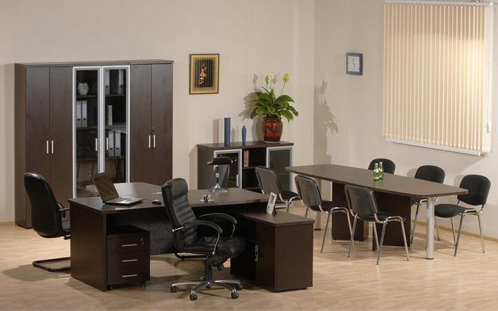 Кабинет для руководителя Цезарь - мебель для солидных людей