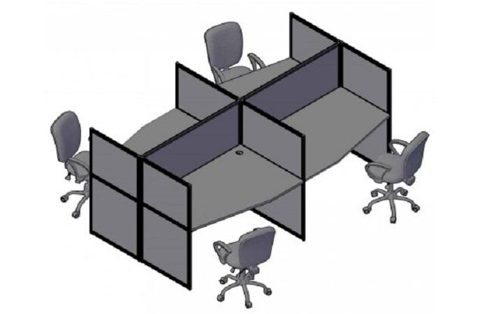 Комплект на 4 рабочих места