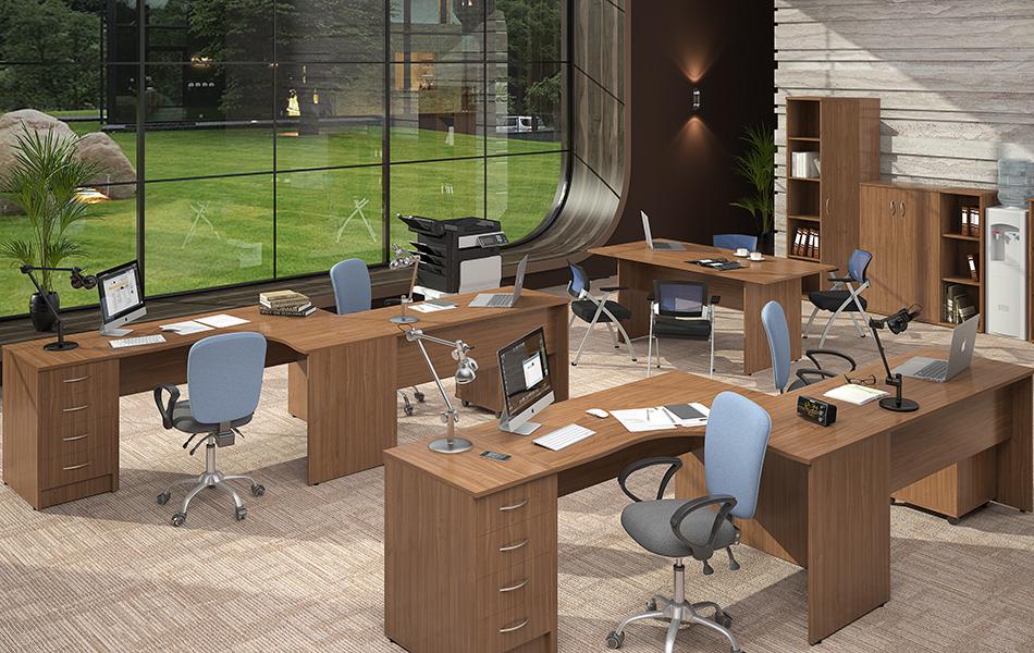 Коллекция офисной мебели Imago - эргономично экономично ииз Белоруссии