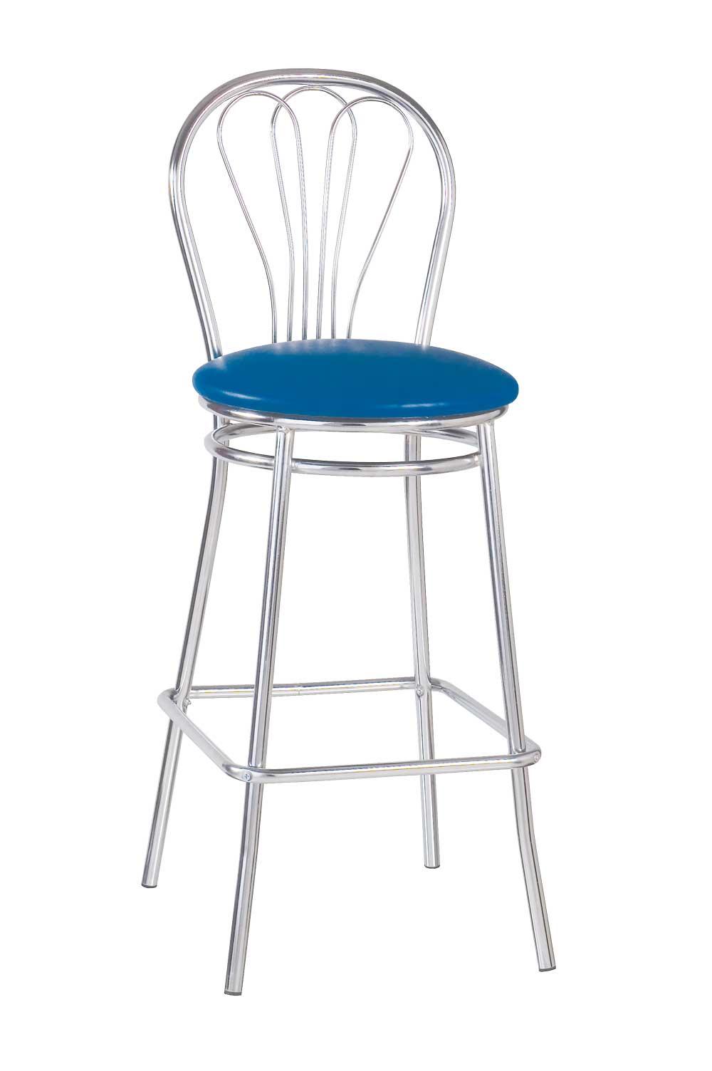 Барный стул VENUS HOKER CHROME RU