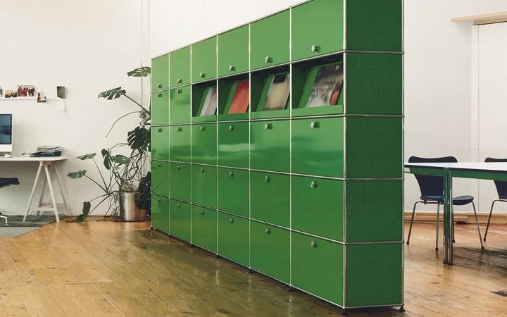 Офисные шкафы могут иметь и дополнительное функциональное назначение, являясь перегородками