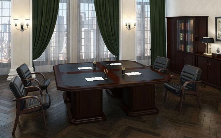 Система из 4-х столов для переговоров MINISTRY