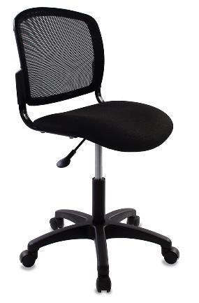 Кресло Бюрократ CH-1296NX/BLACK спинка сетка черный сиденье черный
