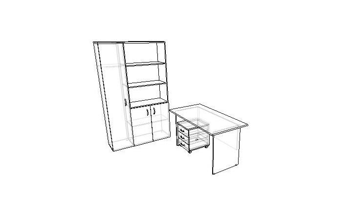 Комплект офисной мебели Континент 2