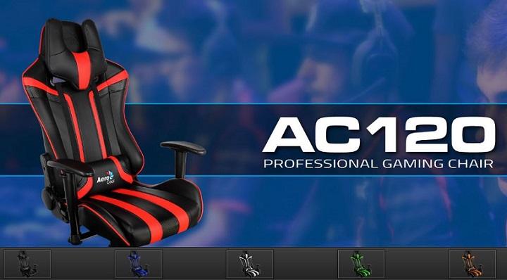 Изучаем геймерское игровое кресло AeroCool AC120