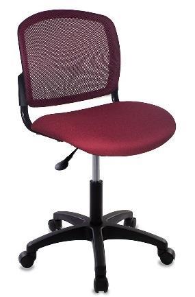 Кресло Бюрократ CH-1296NX/CHERRY спинка сетка темно-бордовый сиденье бордовый