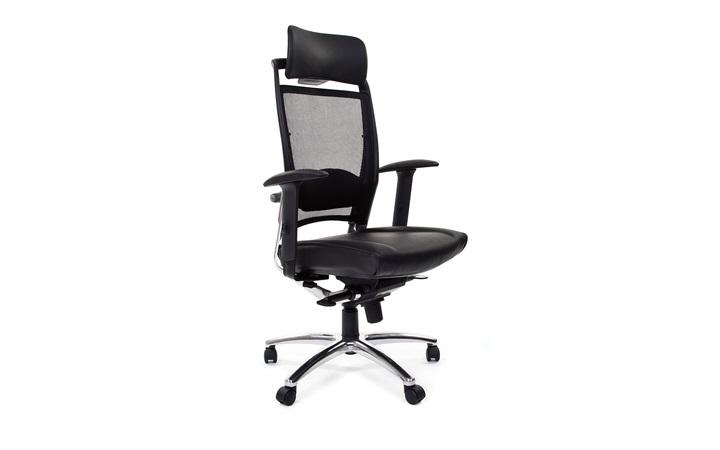 Кресло для руководителя CHAIRMAN Ergo 281A chrome