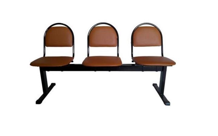 Секция стульев Стандарт 3-х местная