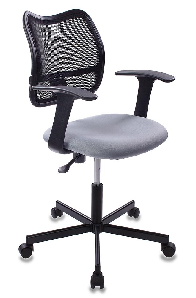 Кресло Бюрократ CH-797M/15-48 спинка сетка черный сиденье серый 15-48 крестовина металл