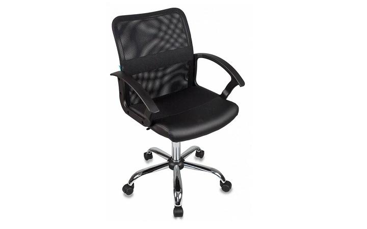 Кресло офисное Бюрократ CH-590SL/BLACK