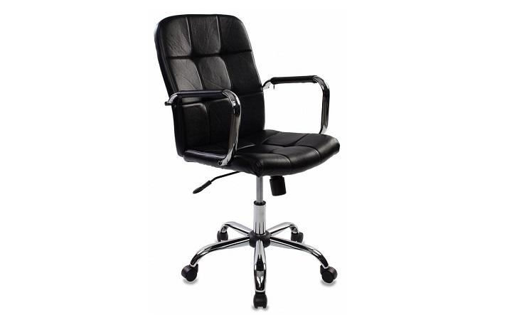 Кресло руководителя Бюрократ CH-909-LOW/BLACK