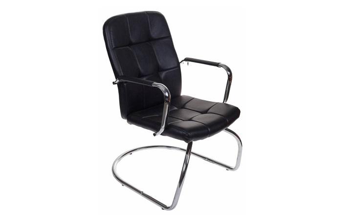 Кресло посетителя Бюрократ CH-909-LOW-V/BLACK