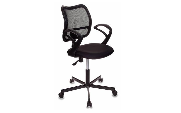 Кресло Бюрократ CH-1799/BLACK спинка сетка черный сиденье черный крестовина металл