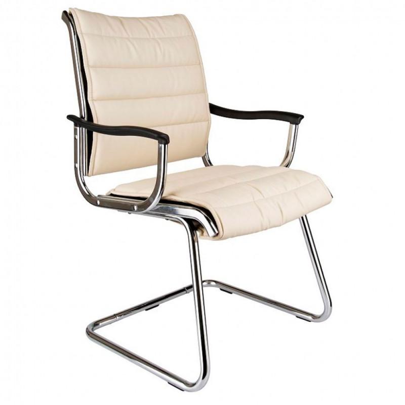 Кресло посетителя Бюрократ CH-994AV/Ivory