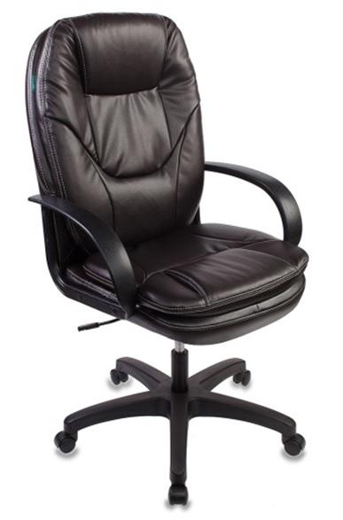 Кресло руководителя Бюрократ CH-1868/COFFEE темно-коричневый искусственная кожа (пластик черный)