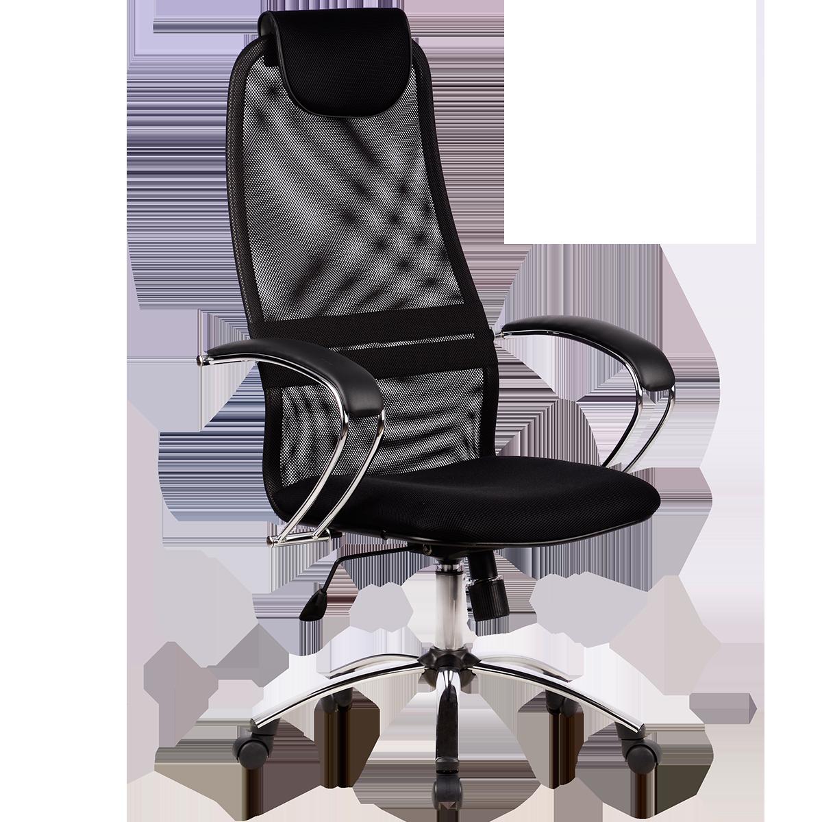 Кресло офисное Metta BK-8 CH 20 черный