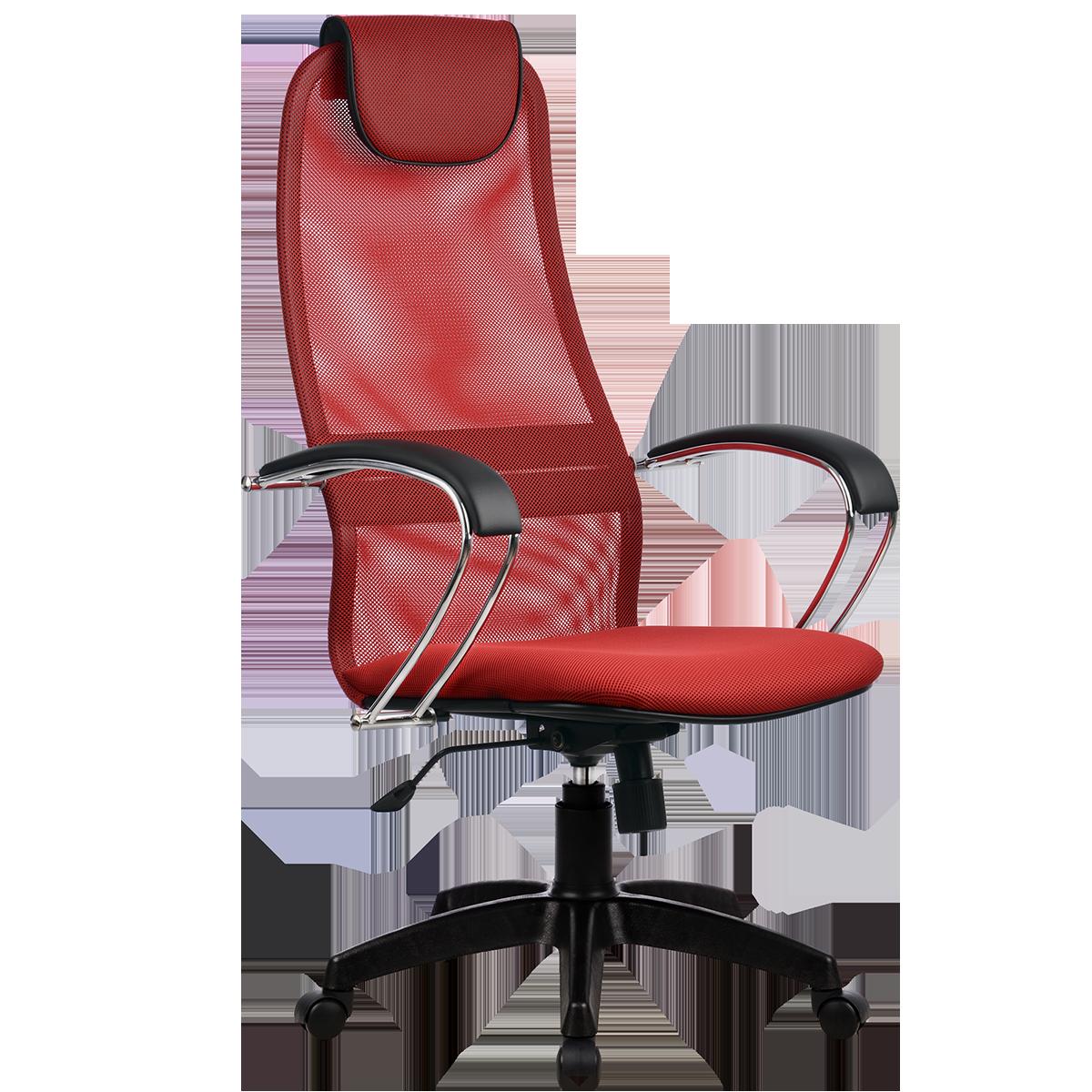 Кресло офисное Metta BK-8 PL 22 красный