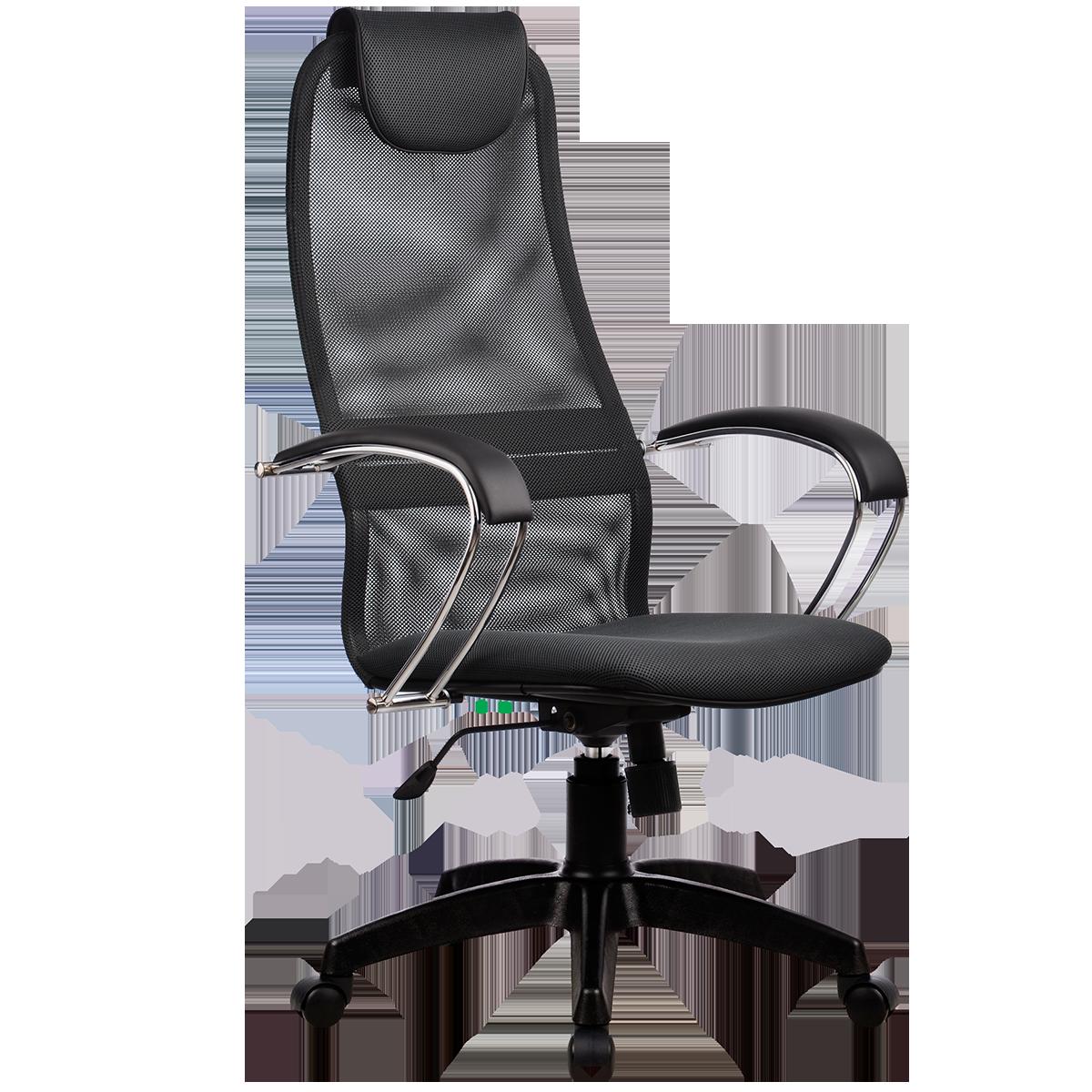 Кресло офисное Metta BK-8 PL 21 темно-серый