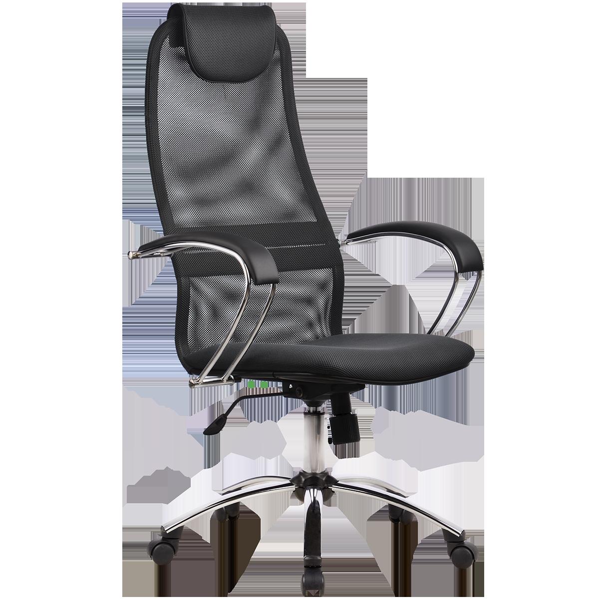 Кресло офисное Metta BK-8 CH 21 темно-серый