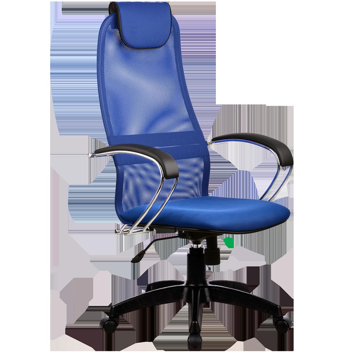 Кресло офисное Metta BK-8 PL 23 синий