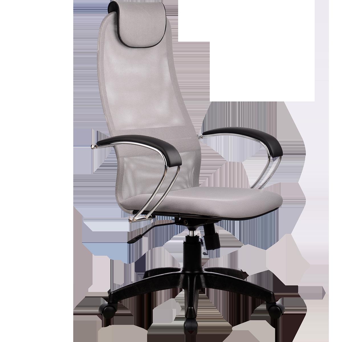 Кресло офисное Metta BK-8 PL 24 светло-серый