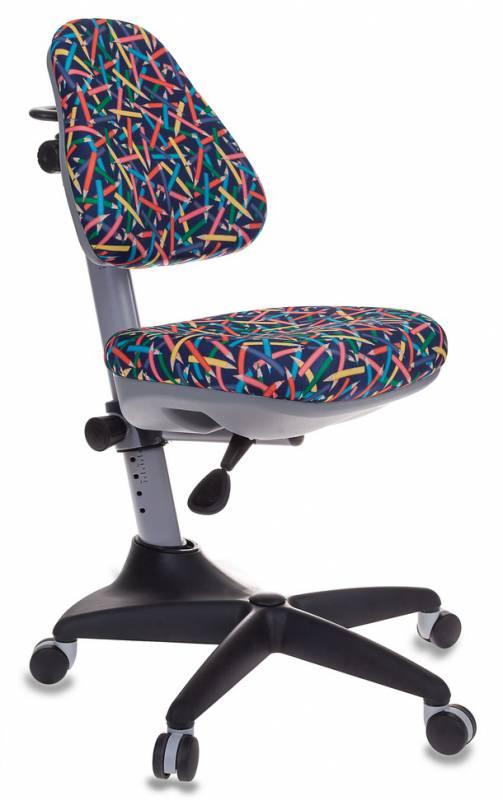 Кресло детское Бюрократ KD-2/G/PENCIL-BL