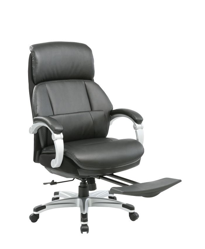 Кресло руководителя Бюрократ _MIRO/BLACK