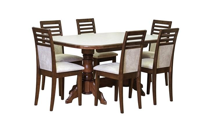 Кухонный набор стол ЛИОН и стул КАЗАНОВА