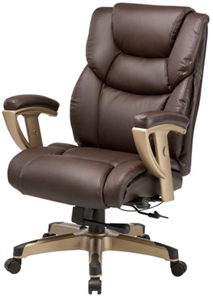 Кресло руководителя Бюрократ T-9999 - Коричневый Brown