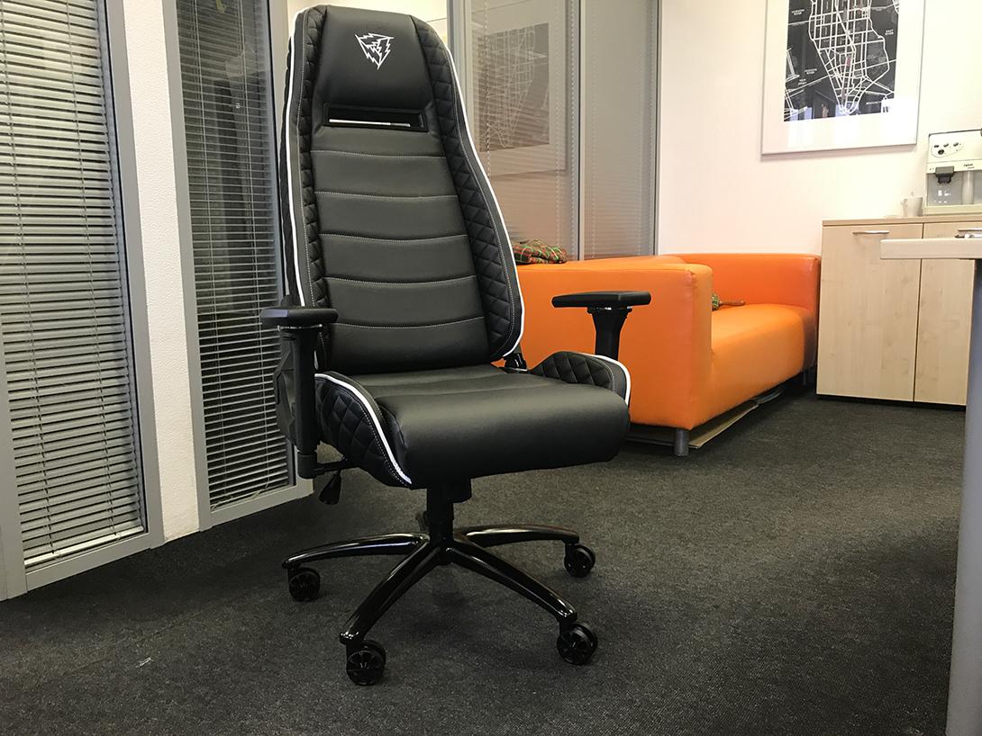 Обзор и тест кресла для геймеров ThunderX3 TGC40