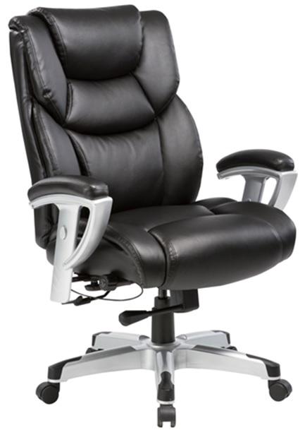 Кресло руководителя Бюрократ T-9999 - Черный Black