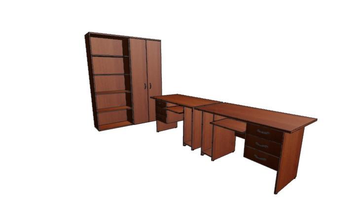 Комплект офисной мебели Континент 7