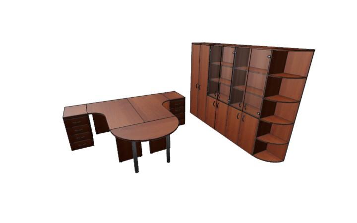 Комплект офисной мебели Оптима 7