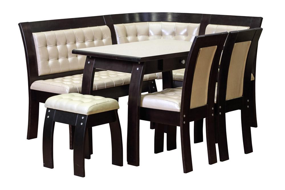 Кухонный набор FIJI диван+стол+пуф