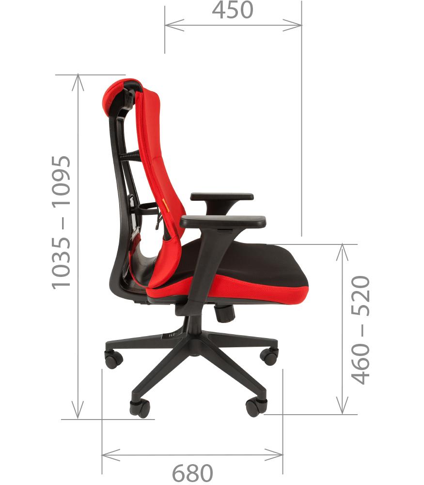 Кресло геймерское CHAIRMAN GAME 10