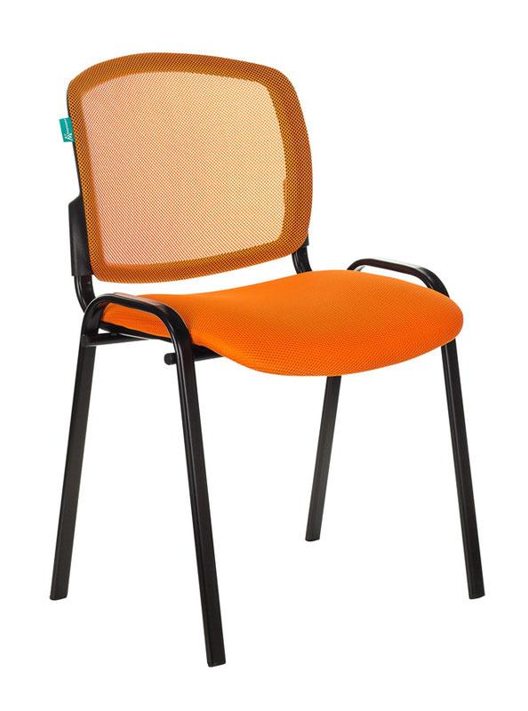 Стул Бюрократ VIKI/OR/TW-96-1 спинка сетка TW-38-3 сиденье оранжевый TW-96-1